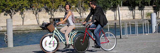 Rool'in: offrez une roue électrique à votre vélo