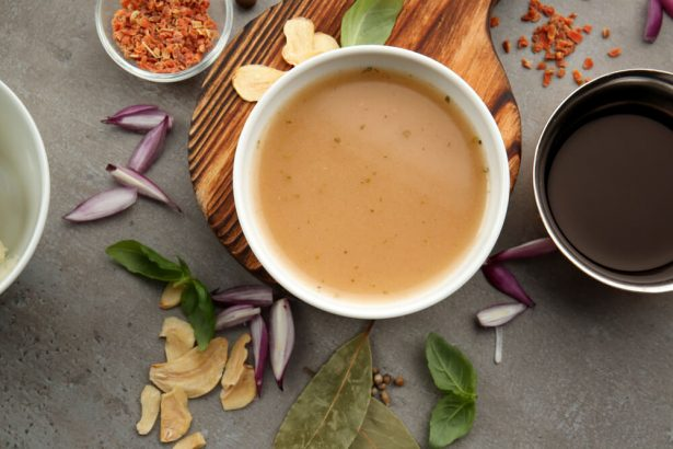 rôti végétal, sauce gravy