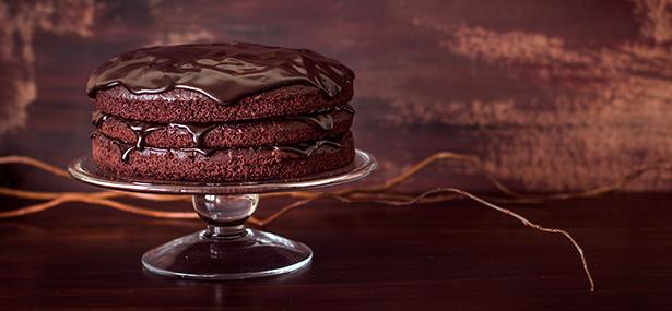 recette bûche de noël au chocolat vegan