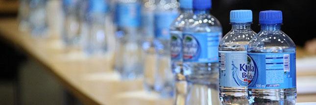 En 2015, l'eau minérale s'est mieux vendue que le cola en France