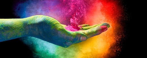 couleur et humeur, festival de holi