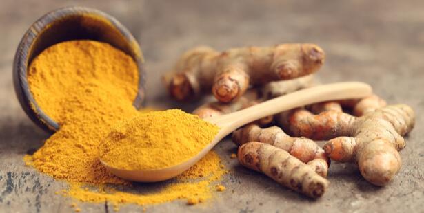 aliments riches en antioxydants curcuma