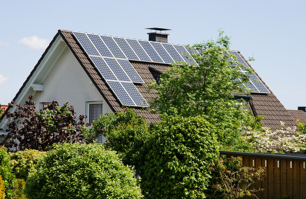 panneaux solaires