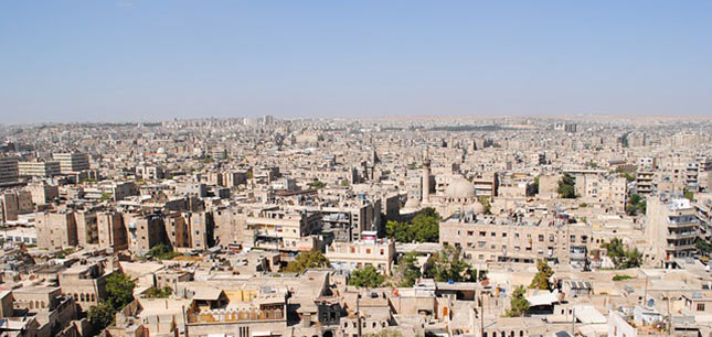 savon d'Alep avant les bombardements