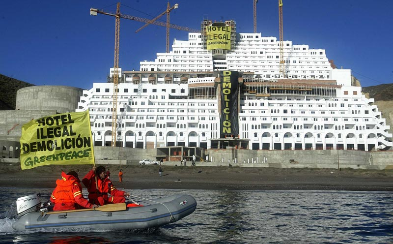 Protection des côtes: un hôtel illégal sera démoli en Espagne après 10 ans de litiges