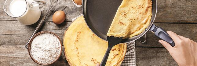 Recette : de délicieuses crêpes sucrées pour la Chandeleur