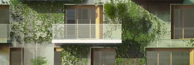'Réinventer Paris' : l'idée d'un jardin habitable au coeur de Paris
