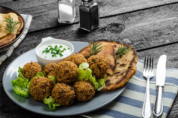 falafel végétarien