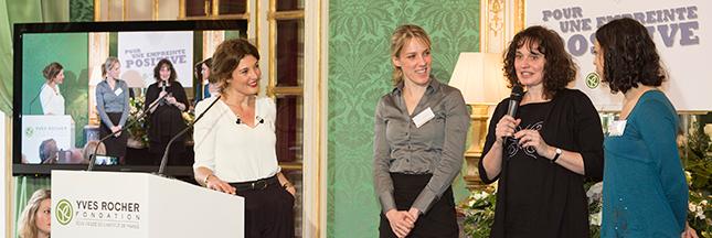 Les lauréates du prix Terre de Femmes s'engagent pour la planète