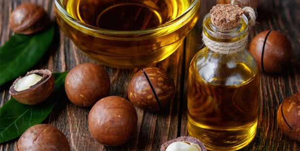 huile noix de macadamia