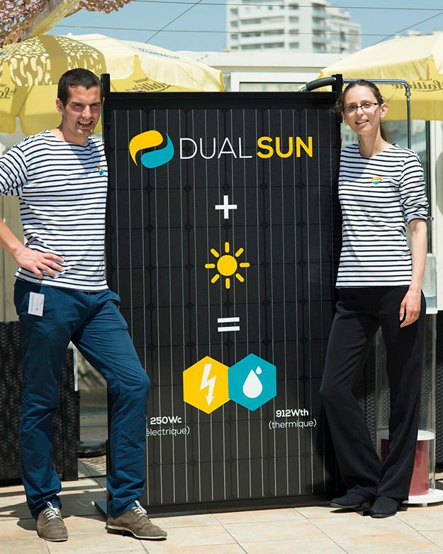 Le panneau solaire hybride de nouvelle g n ration dualsun - Panneau solaire hybride ...