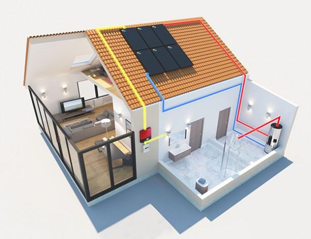 DualSun maison auto-consommation