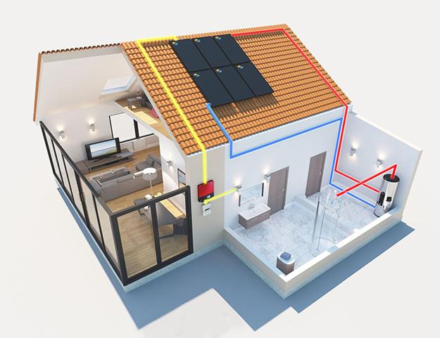 Le panneau solaire hybride de nouvelle g n ration dualsun - Panneaux solaires hybrides ...
