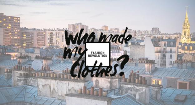 """Pourquoi faire une """"révolution de la mode"""" le 24 avril?"""