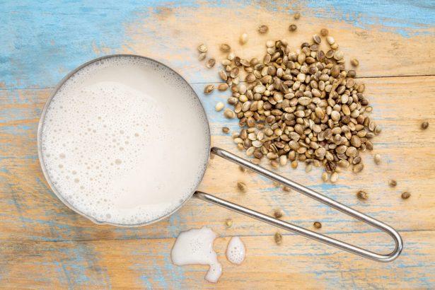 lait végétal, chanvre
