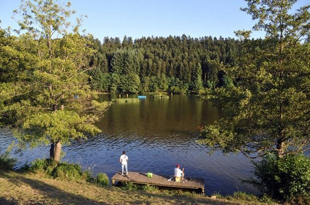 pêche lac des sapins