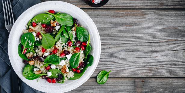 salade épinard