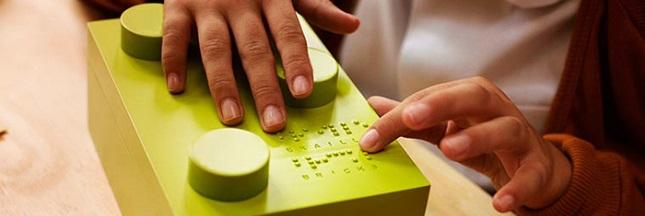 Des Lego en Braille pour aider les enfants non-voyants