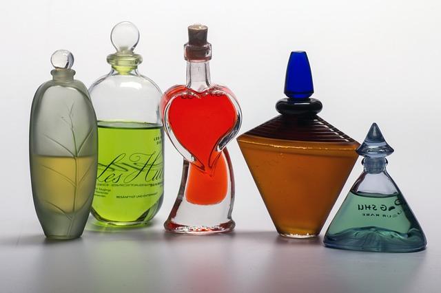 parfum flacon recyclage