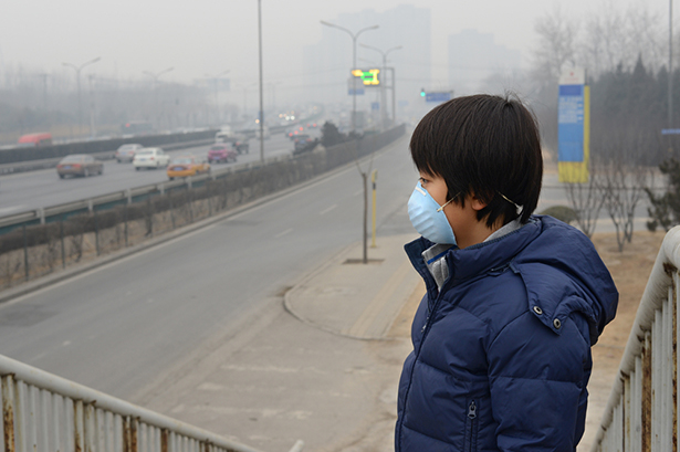 Pollution de l'air à Pékin © ung Chung Chih Shutterstock