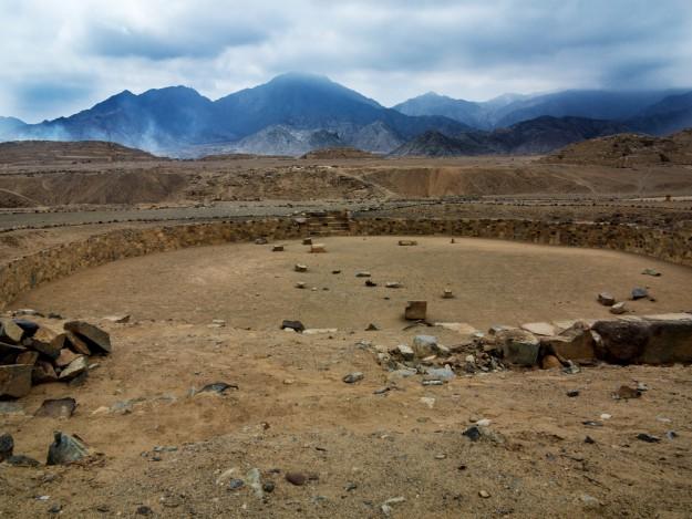 Caral, la ville la plus ancienne de l'Amérique, fut avalé par le sable