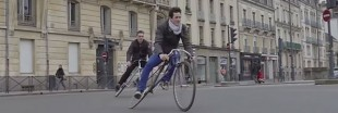 Le Trocadéro-Fixie : le vélo désarticulé