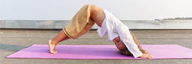 5 postures pour faire du yoga avec des enfants