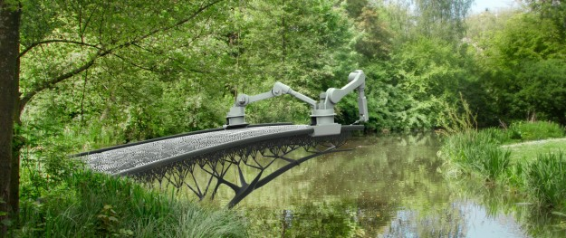 3D-print-steel-bridge-in-Amsterdam