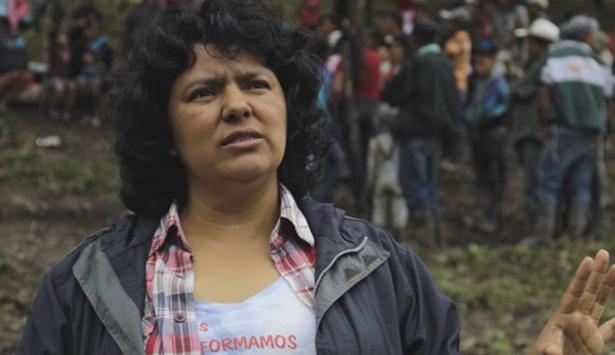 défenseurs de l'environnement assassinés mars 2016