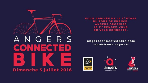 juillet vélo angers connected bike
