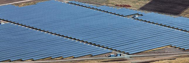 production énergie solaire parc photovoltaïque