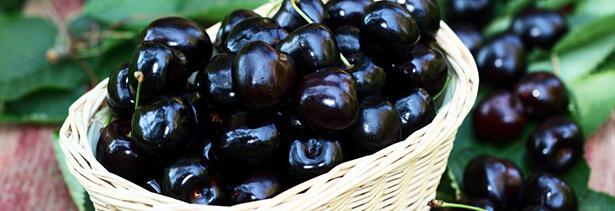 super aliments cerises noires
