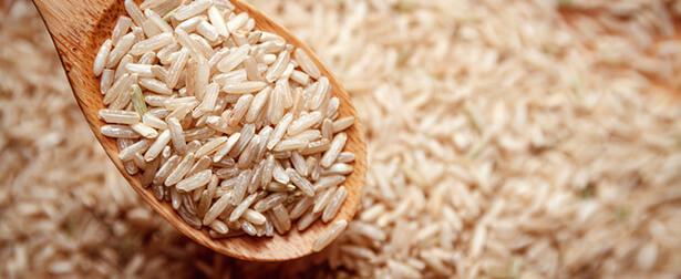 super aliments riz brun