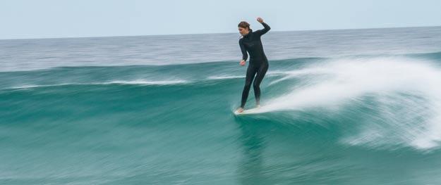 Combinaisons de surf sans néoprène