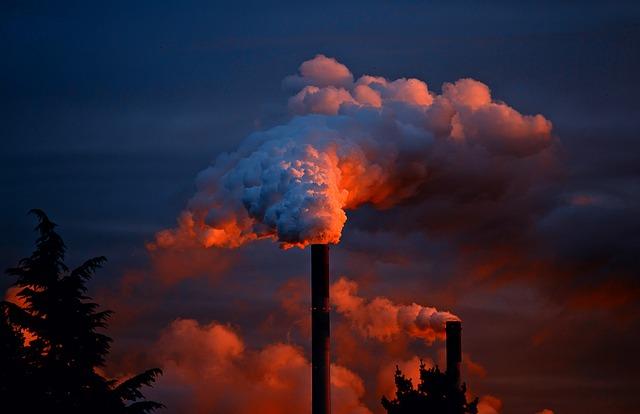 usine gaz à effet de serre