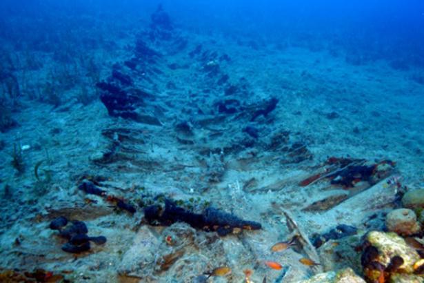 épave millénaire exploration sous-marine Grèce 2016