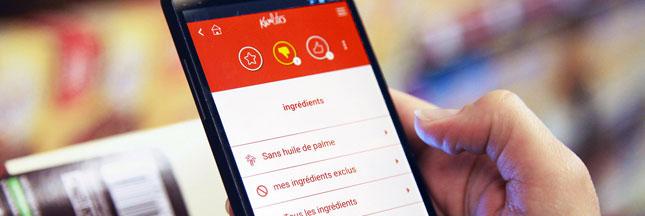 Reprenez le contrôle sur votre alimentation avec l'application Kwalito