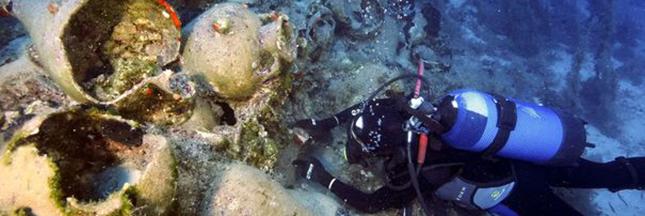 Grèce : des épaves millénaires découvertes en mer Egée