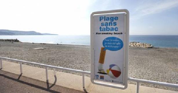 plage sans tabac