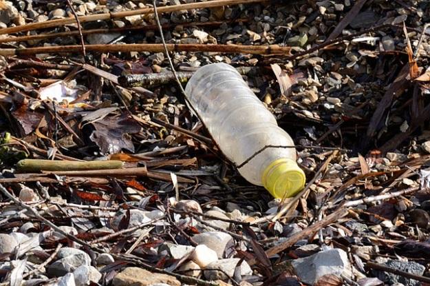 déchet plastique plage