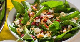 Salade californienne: 5 recettes avec des cranberries séchées