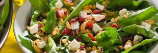 Salade californienne : 5 recettes avec des cranberries séchées