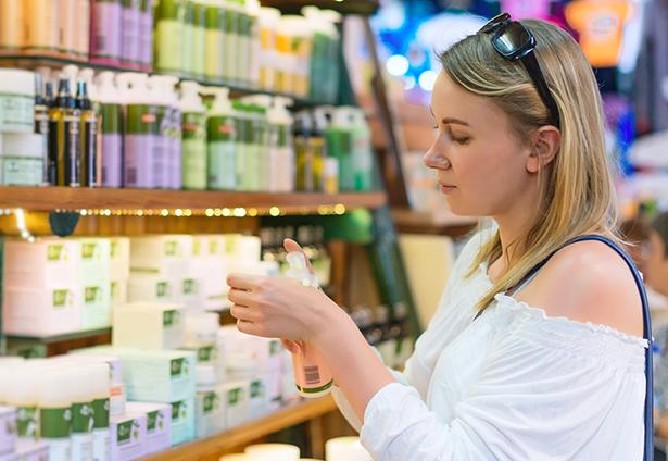 produits de beauté naturels, lire étiquette, liste des ingrédients
