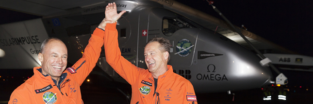 Solar Impulse 2 a bouclé son tour du monde