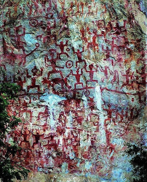Unesco 2016 art rupestre Zuojiang Huashan