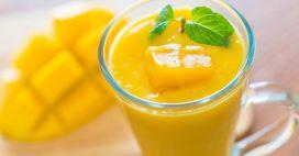 Recette bio: un délicieux smoothie à la papaye et à la mangue