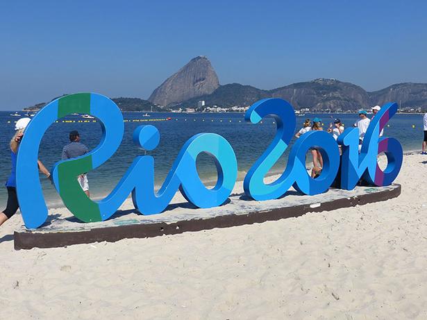 Rio 2016 baie de Guanabara