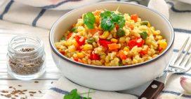 Recette bio: salade de boulgour aux légumes de saison
