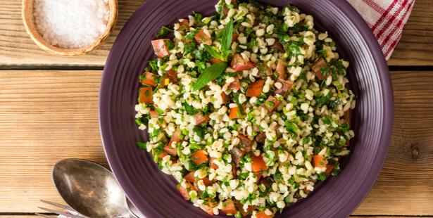 salade boulgour