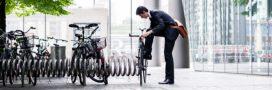 Bonne résolution: je vais au travail à vélo